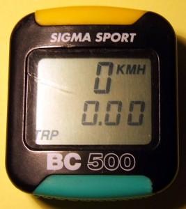 инструкция Sigma Sport 500 - фото 4