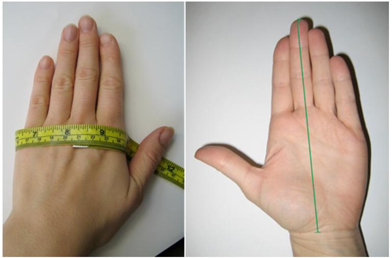 размер перчаток вело