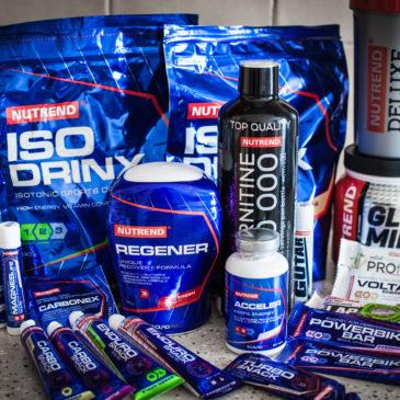 Спортивное питание на гонках и тренировках
