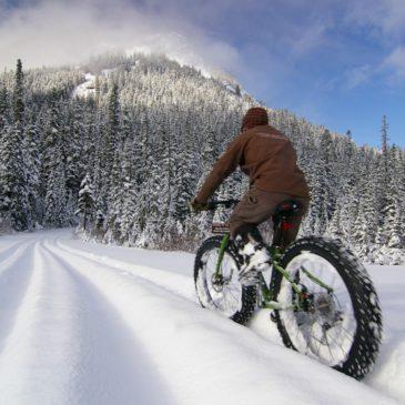 Зимой на велосипеде?!
