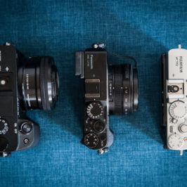 Обзор-сравнение Sony A6300, Panasonic LX100 и Fujifilm X70 в качестве велофото